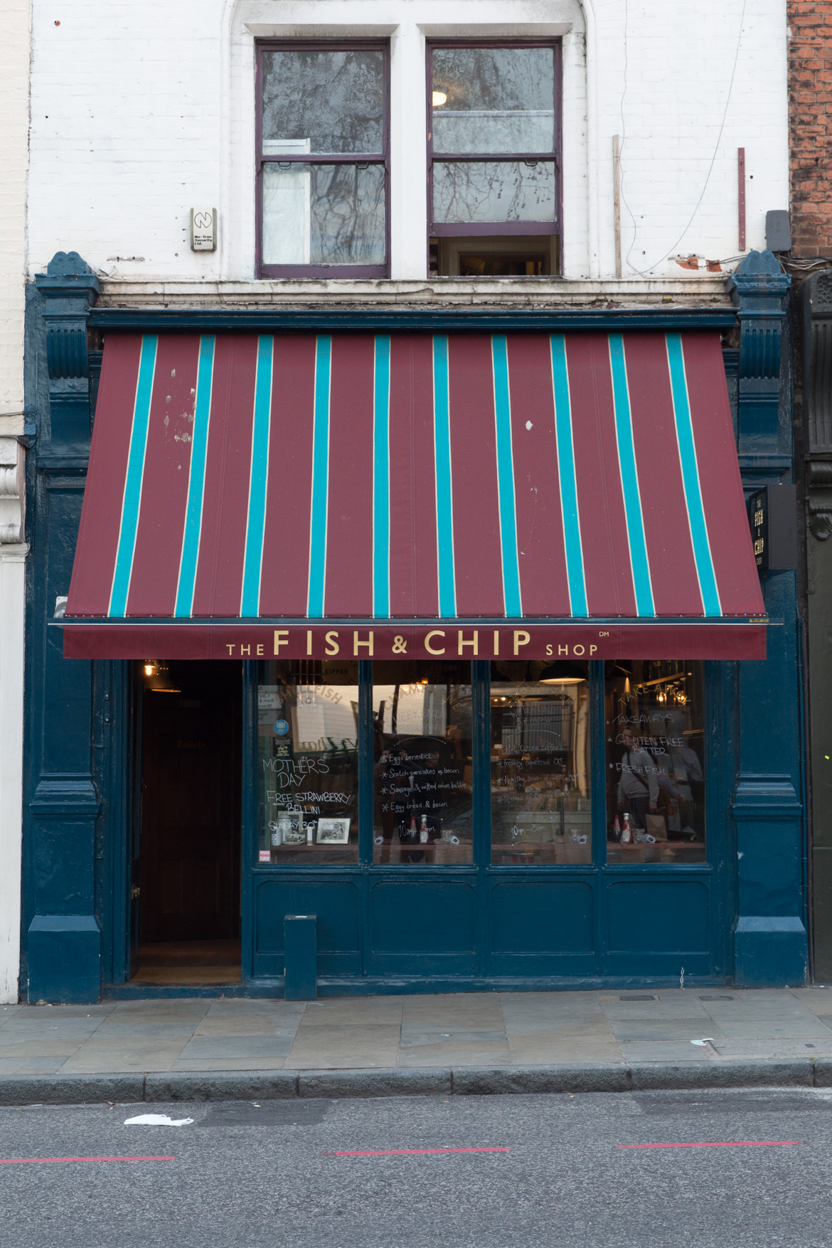 London restaurant Fish and Chip Shop