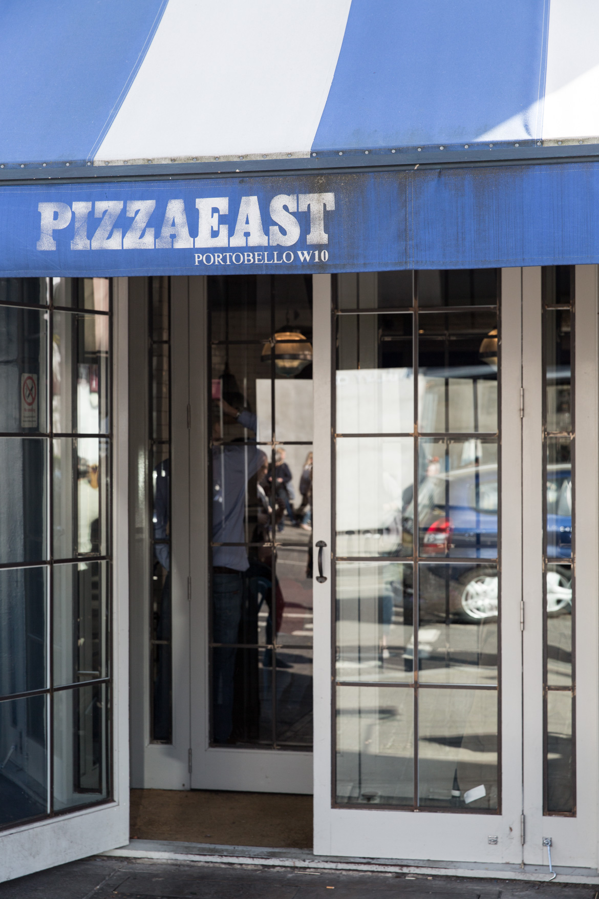 London restaurant Pizza East